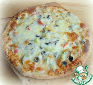 Pizza on sourdough