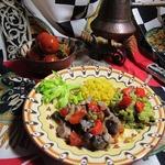 Жаркое с овощами по-мароккански