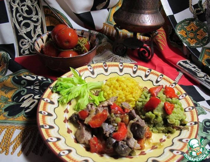 Рецепт: Жаркое с овощами по-мароккански