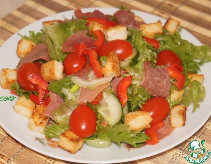 Рецепт: Салат с сельдереем и беконом
