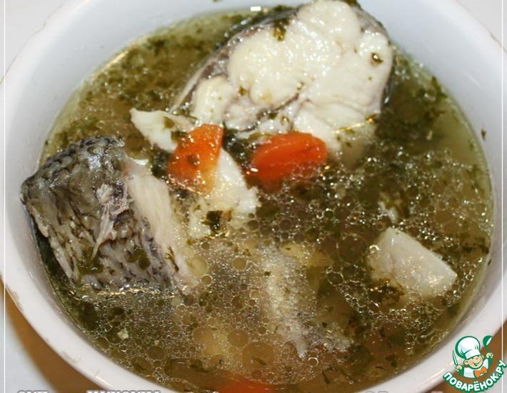 Рецепт: Суп из муксуна