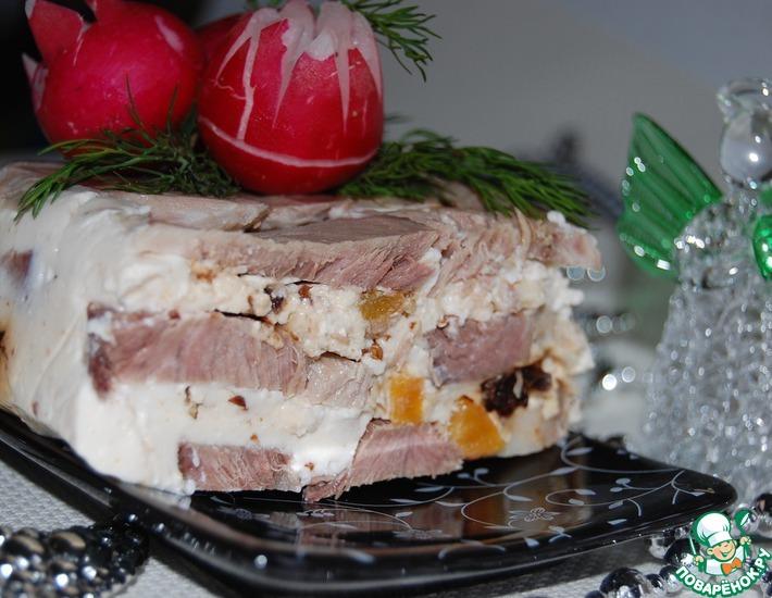 Рецепт: Мясной террин с йогуртом