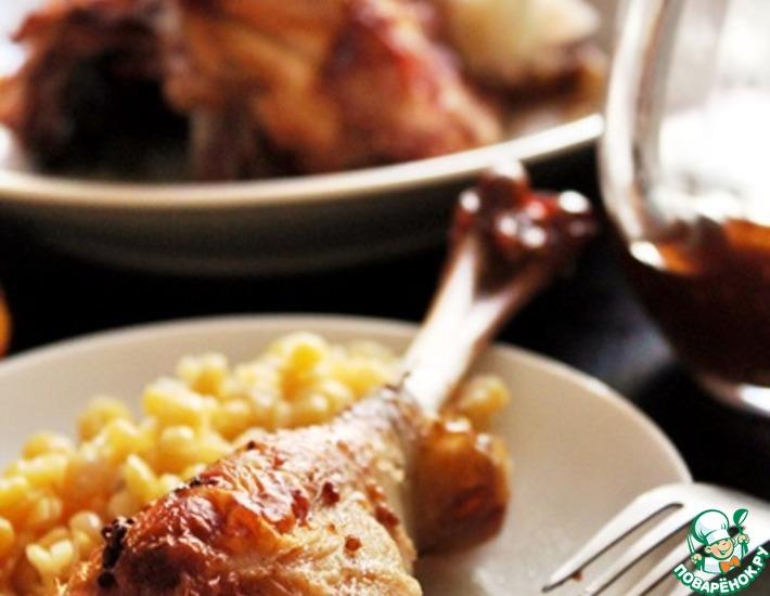 Рецепт: Курица с чили и цитрусовой ноткой