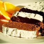 Шоколадно-апельсиновый пирог из фасоли