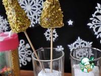 Кейк попсы Новогодние ёлочки ингредиенты