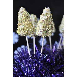 Кейк попсы Новогодние ёлочки