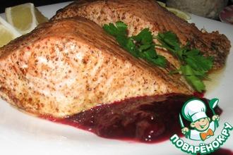 Рецепт: Филе сёмги с хрустящей корочкой и сочное внутри