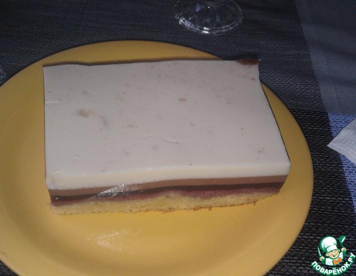 Рецепт: Торт Йогуртное суфле