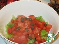 Закуска в стиле Цезарь ингредиенты