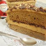 Миндально-медовый торт