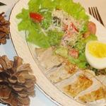 Закуска в стиле Цезарь