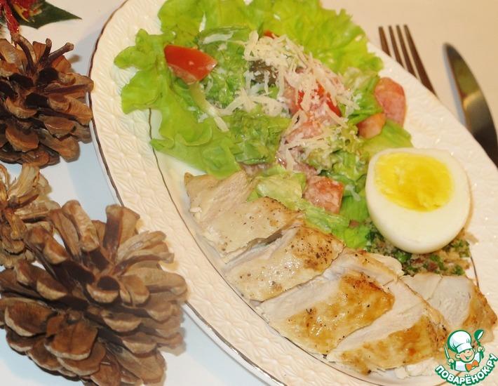 Рецепт: Закуска в стиле Цезарь