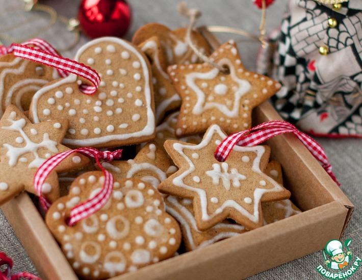 пряники новогодние рецепт в домашних