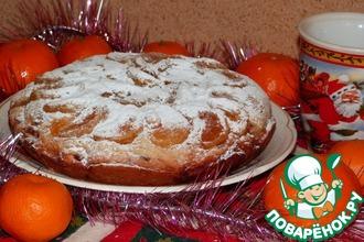 Рецепт: Рождественский кекс