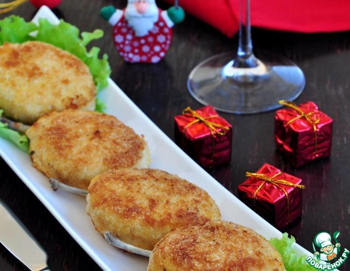 Рецепт: Куриные котлеты Новомихайловские