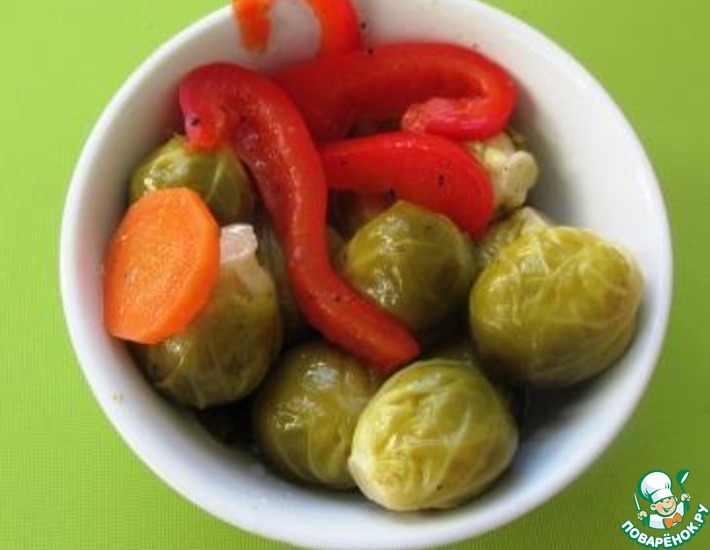 Рецепт: Маринованная брюссельская капуста