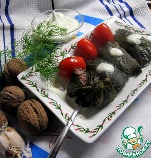 Рецепт Долма вегетарианская