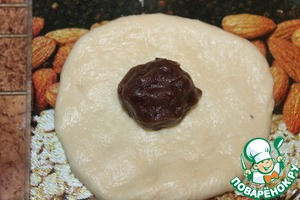 """Сладкие японские булочки """"Ан-пан"""" с фасолью – кулинарный рецепт"""