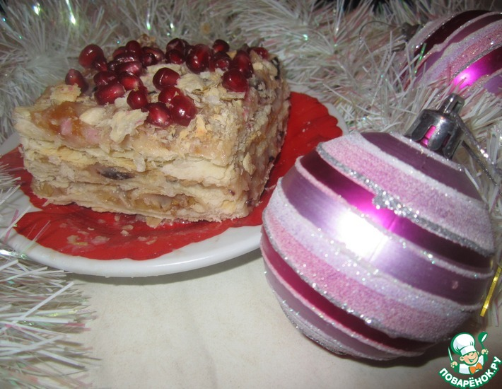 Рецепт: Торт Наполеон по-восточному
