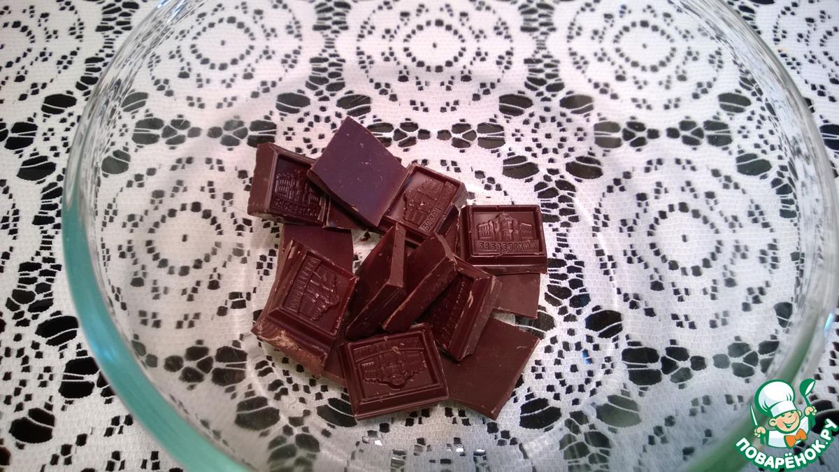 Шоколадные конфеты с нутеллой