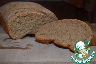 Рецепт: Хлеб с хлопьями из смеси злаков