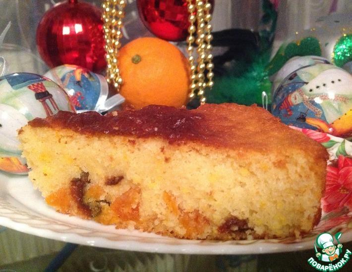 Рецепт: Пирог Рождественский апельсин