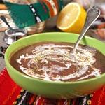 Пряный суп из фасоли