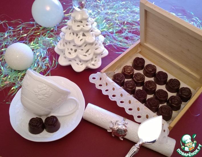 Рецепт: Шоколадные конфеты с нутеллой