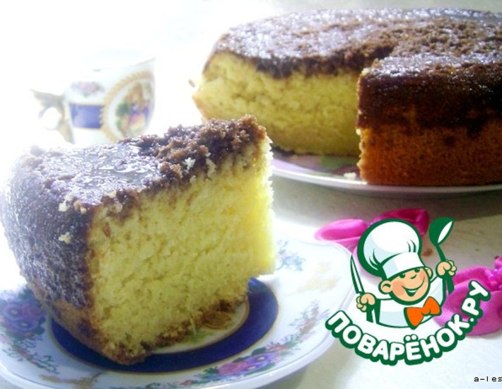 Рецепт: Пирог Равани