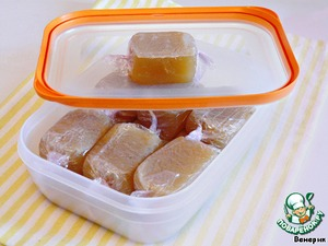 Chicken cubes homemade