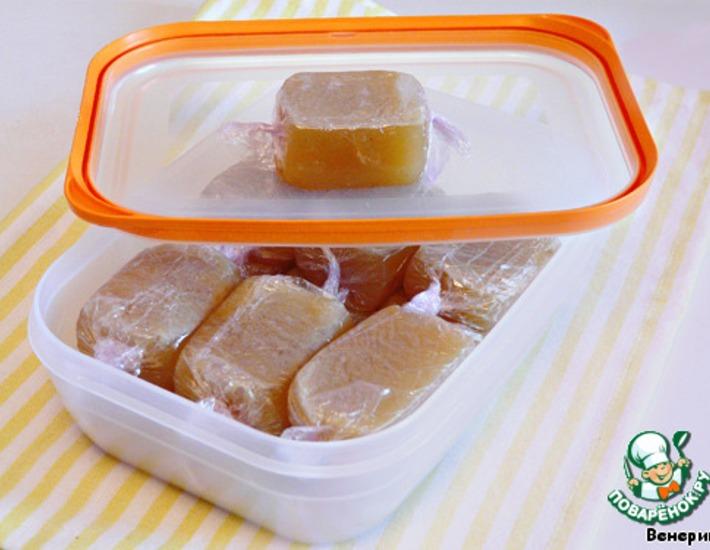 Рецепт: Куриные кубики домашнего приготовления