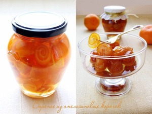 Jam orange peel