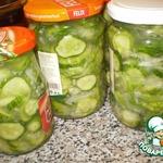 Салат сырой из огурцов на зиму