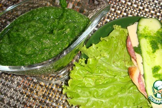 Рецепт: Зелeная аджика