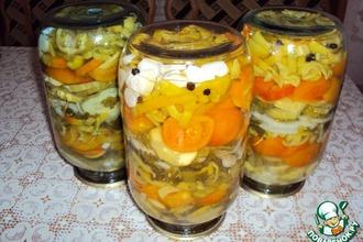 Рецепт: Желейный салат