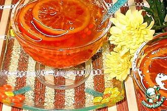 Рецепт: Апельсиновое варенье