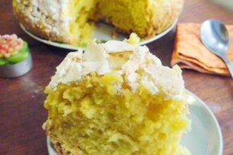 Рецепт: Португальский пирог Простой ванильный пай