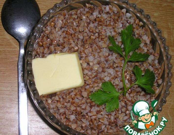 Рецепт: Каша гречневая и секреты еe приготовления