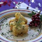 Праздничный слоеный картофель