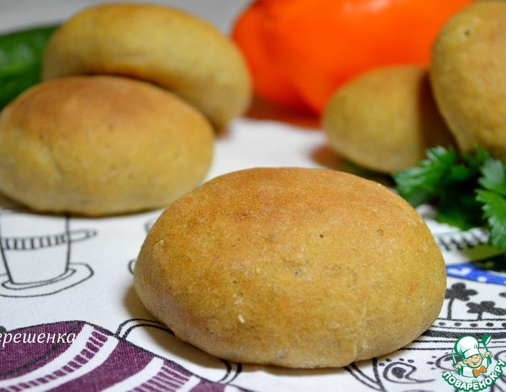 Рецепт: Диетические булочки для гамбургеров