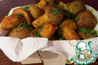 Рецепт: Картофельные грибы