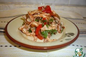 Рецепт: Салат Маркиза