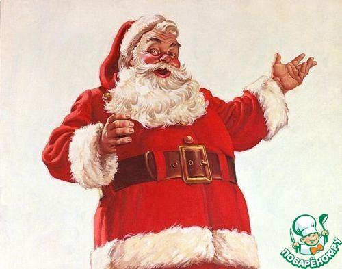"Пирожное ""Шапочка Санта Клауса"""
