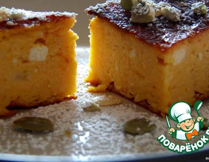 Рецепт: Тыквенныe пирожные-суфле