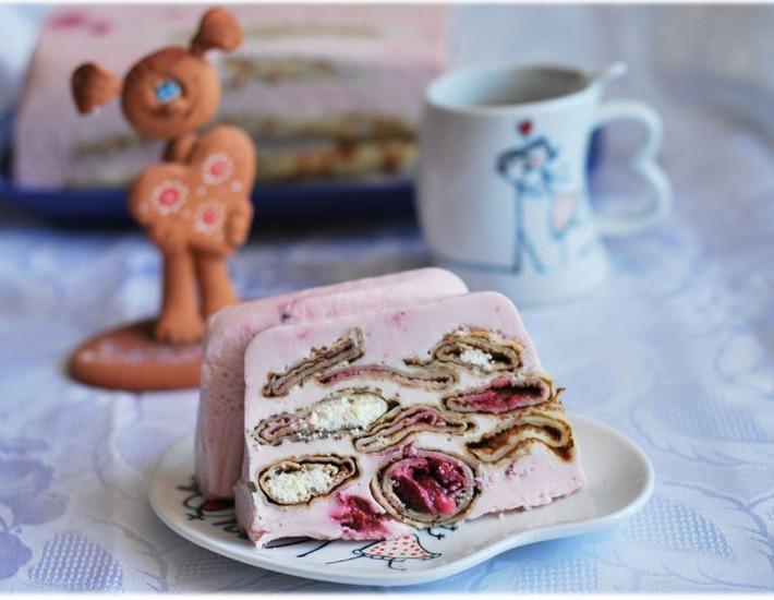 Рецепт: Блинный торт С Масленицей, Любимый!