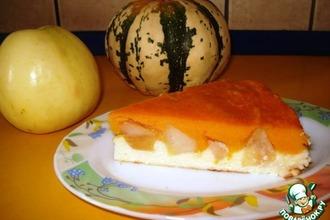"Рецепт: Пирог-запеканка ""Осеннее золото"""