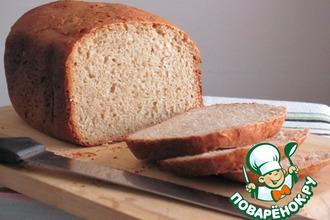 Рецепт: Хлеб горчичный с овсяными хлопьями