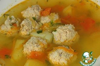 Рецепт: Суп с фрикадельками