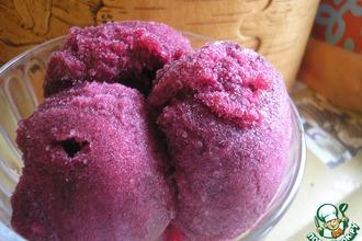 Рецепт: Щербет из винограда