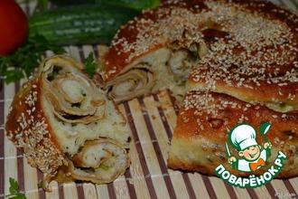 Рецепт: Хлеб по мотивам Сезам Скаллиони
